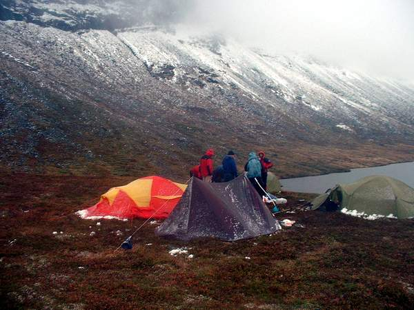 Breogfjellsport.no Vis bilde Teltleiren